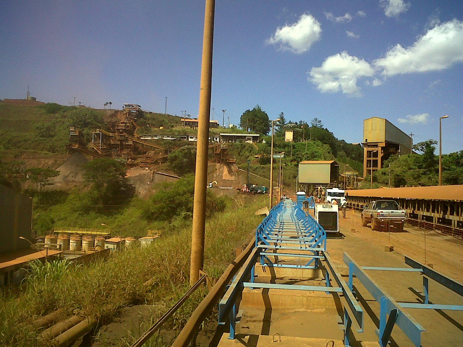 Mineração Barão de Cocais – MG – Correia Transportadora 001