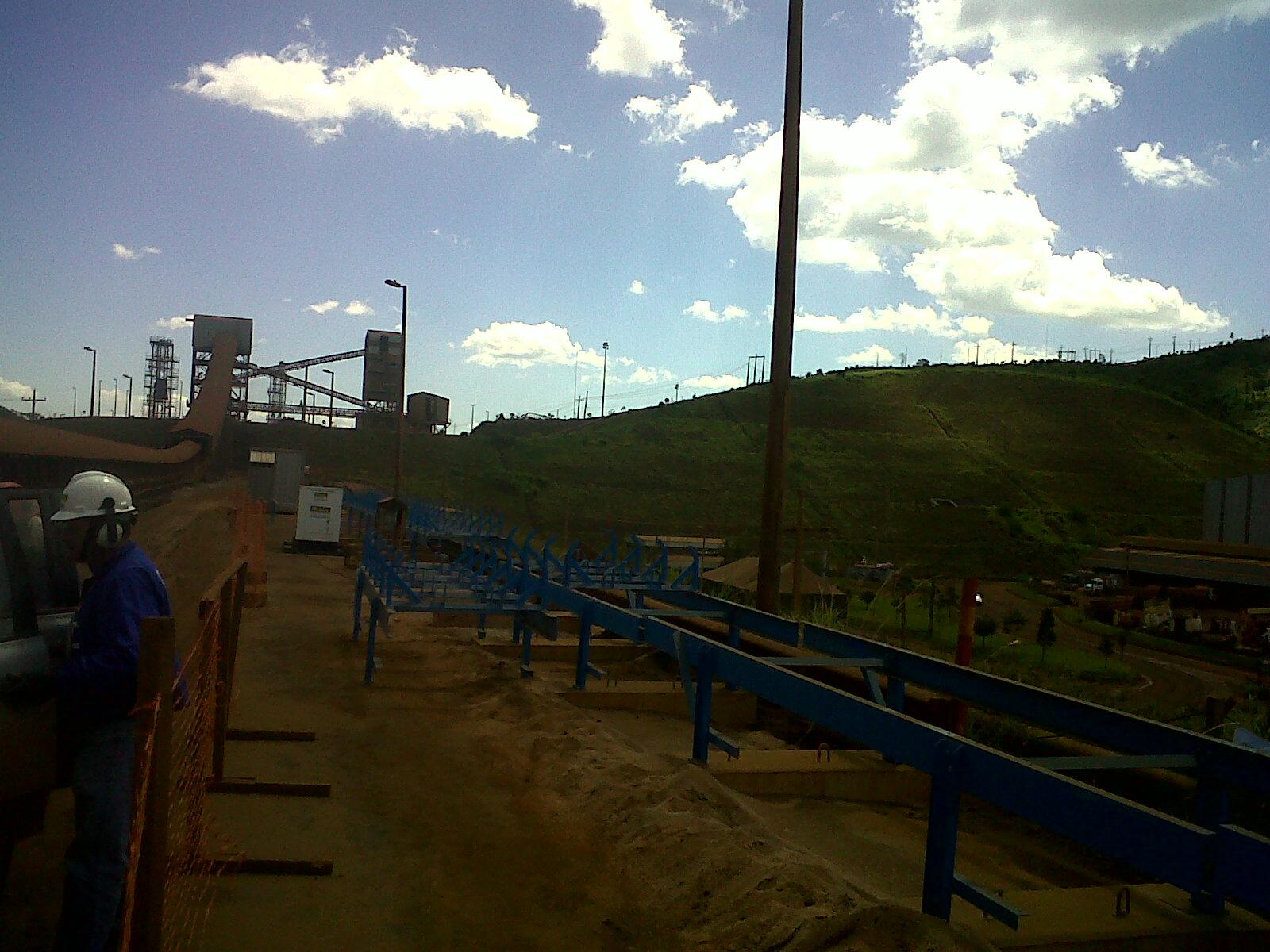 Mineração Barão de Cocais – MG – Correia Transportadora 002