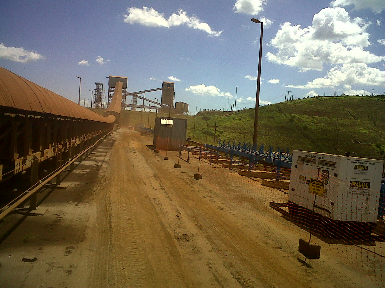 Mineração Barão de Cocais – MG – Correia Transportadora 003
