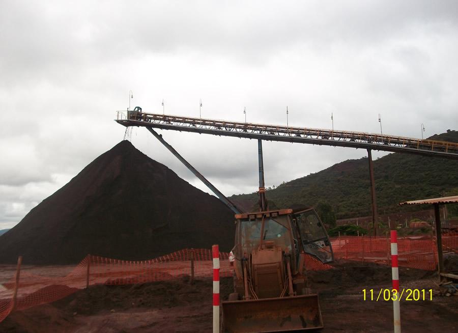 Mineração Itatiauçu – MG – Correia Transportadora 001