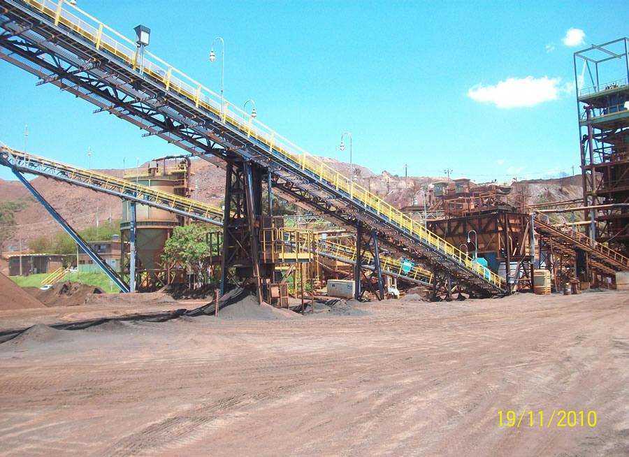 Mineração Itatiauçu – MG – Correia Transportadora 002