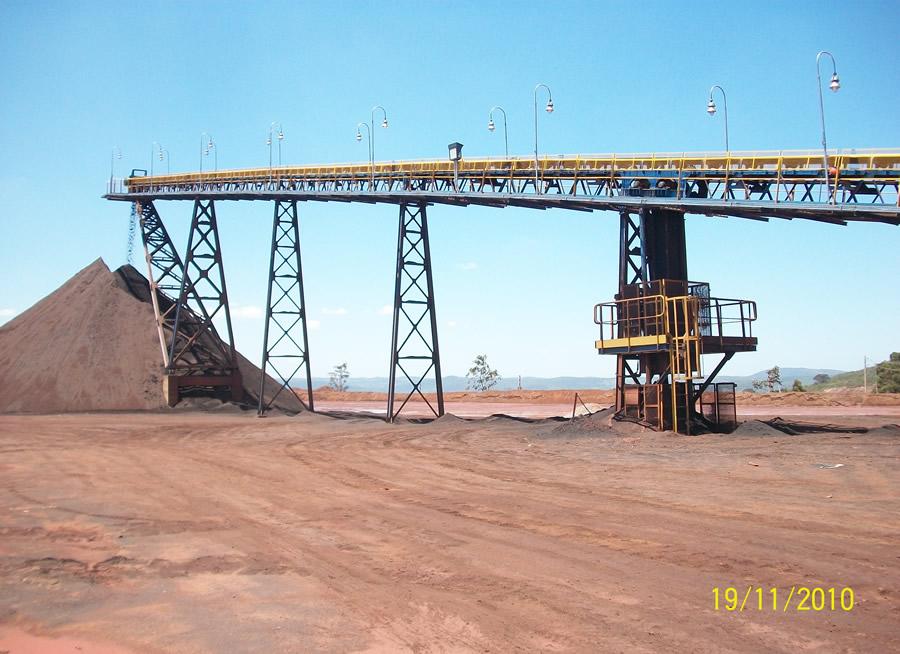 Mineração Itatiauçu – MG – Correia Transportadora 003