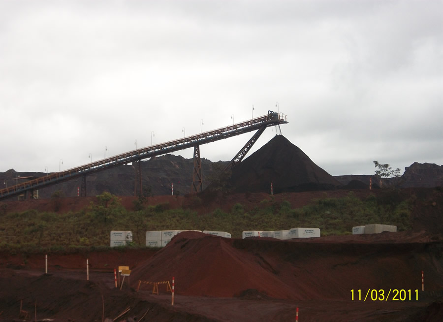 Mineração Itatiauçu – MG – Correia Transportadora 004